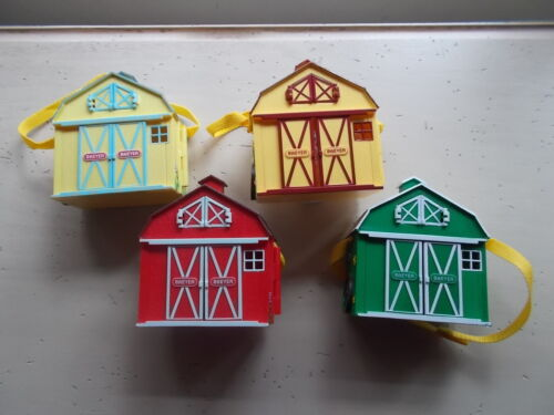 Lot 4 Breyer Pocket Horse Barn Carry Play Stablemates Scale