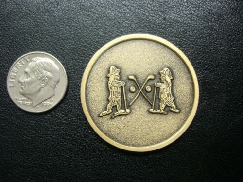 Scarce NATIONAL GOLF LINKS OF AMERICA Medallion Marker Coin C.B. MacDonald