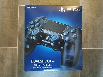 OFFICIAL SONY PLAYSTATION 4 500 MILLION LIMITED EDITION DUAL SHOCK 4 CONTROLLER