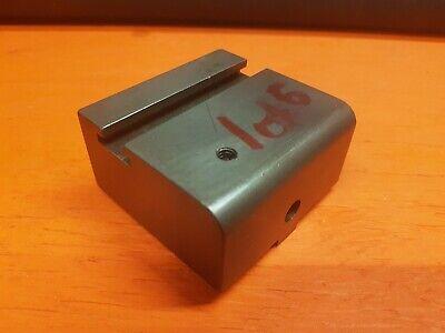 Hardinge Lathe Cross Slide - Cut Off Tool Post Block - Riser - Spacer - 1 Of 6