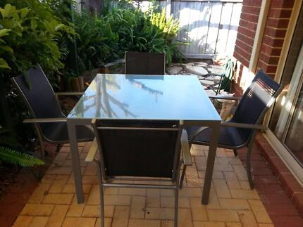 Quality, hardly used 5 piece outdoor setting Burswood Victoria Park Area Preview
