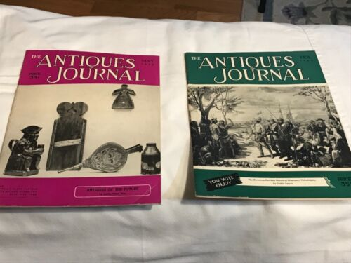 Vintage Antique Journal Magazines /1953/ TWO Total