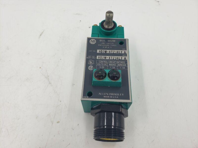 Allen Bradley Limit Switch 802M-ATZJ4LF