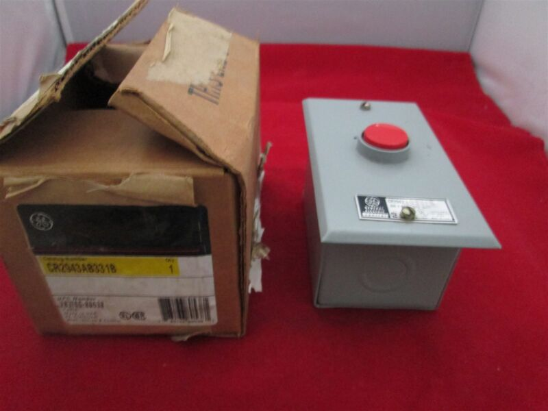 GE General Electric CR2943AB331B Pushbutton new