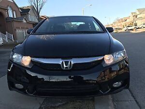 HONDA CIVIC -2010  LOW KM -NAVIGATION -DVD-ALLOY  - AUTO START