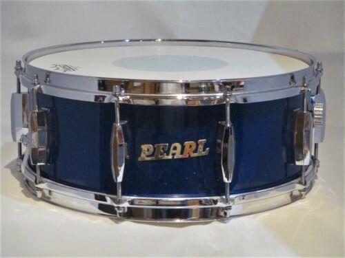 VINTAGE BLUE-SPARKLE-PEARL PEARL 5x14 SNARE DRUM