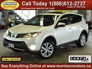 2014 Toyota RAV4 Limited AWD *189b/w on the road!*