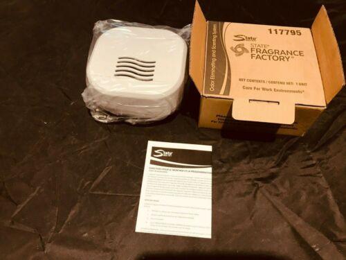 State Fragrance Factory 117795 Odor Eliminating & Scenting Dispenser New