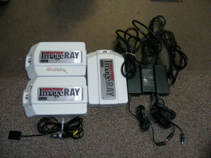 Schein Dentrix ImageRay DDO Sz 1 Digital Sensor Dental XRay & 3 Docking Station