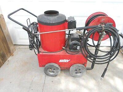 Hotsy 550 115v Diesel Or Kerosene 2.2 Gpm 1300psi Hot Water Pressure Washer