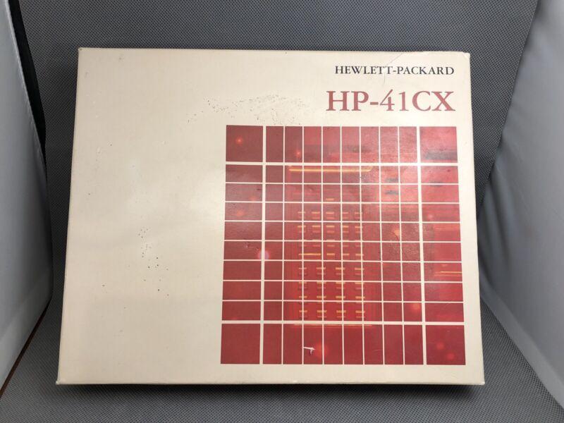 HP-41CX Scientific Calculator, Excellent Condition, In Box NEW Manual