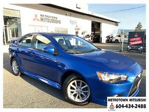 2015 Mitsubishi Lancer SE LTD AWC; Local BC vehicle! Certified P