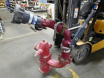 Fire Hydrant Spray Nozzle Gun Protector Station Monitor 2407wvs