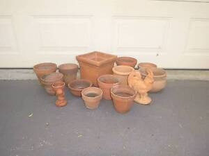 Large collection of terracota pots Newcastle Newcastle Area Preview