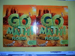 GO Math Florida Student Edition Practice Book Grade 5 2015 ...