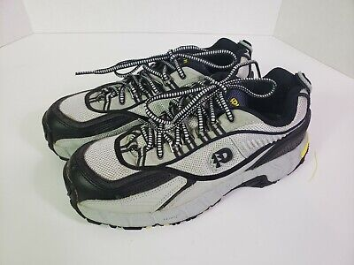 Dunham by New Balance Gray Black Orange Work Shoes w/ Steel Toe Men's Sz 8 ()