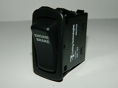 New Carling Rocker Switch Engine Brake 4 Pin Maintained Off On Switch L11b1
