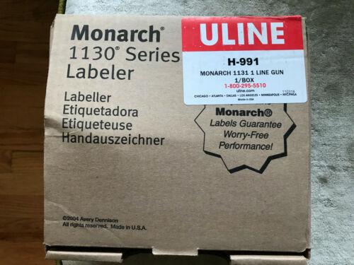 Monarch 1130 series labeler