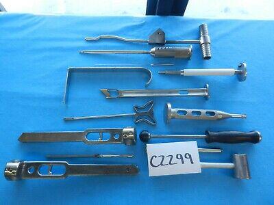 Zimmer Richards Howmedica Surgical Orthopedic Instruments