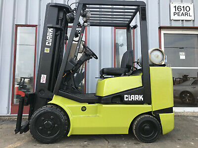 Free Shipping Clark Cgc30 6000lb Cushion Tire Forklift Lifttruck Lease 204