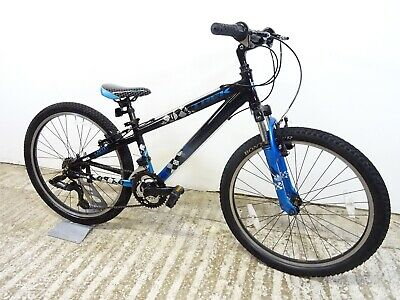 "Trek MT220 24"" Boys Unisex Kids Hardtail Mountain Bike 12"" Alloy Age 9-11 GC"