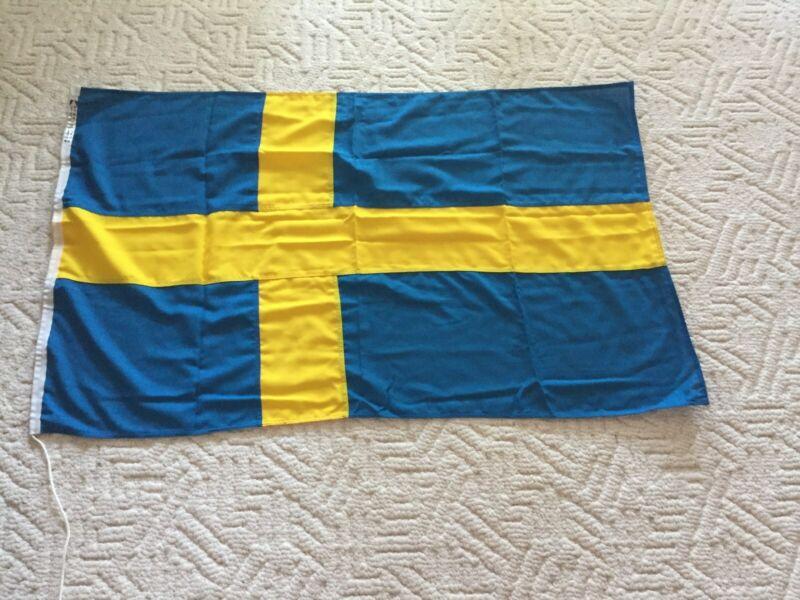 Sweden 3ft x 5ft Printed Polyester Flag - 100% Polyester