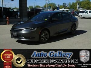 2016 Chrysler 200 S *Lthr/Roof/Nav