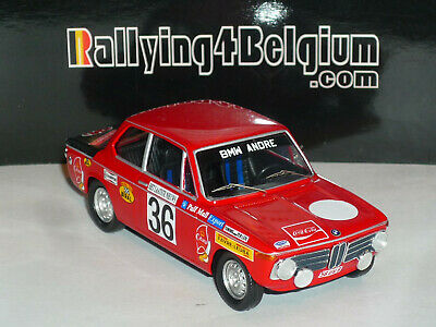 1/43 Trofeu BMW 2002 ti #36 Winner Rally Ieper Ypres 1971 Pedro RRBE11