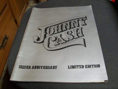 Johnny Cash Silver Anniversary Limited Edition Magazine 1979 Program