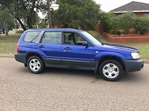 2003 Subaru Forester XS AWD Wagon Manual 4months Rego Liverpool Liverpool Area Preview