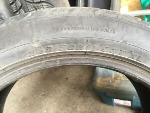 205 50 R17 winter tires (set of four)