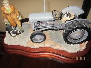 Original Border Fine Arts Grey Ferguson Tractor