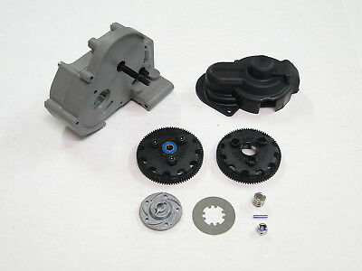 NEW TRAXXAS RUSTLER Transmission +Slipper Clutch & Gear Cover VXL RUE10