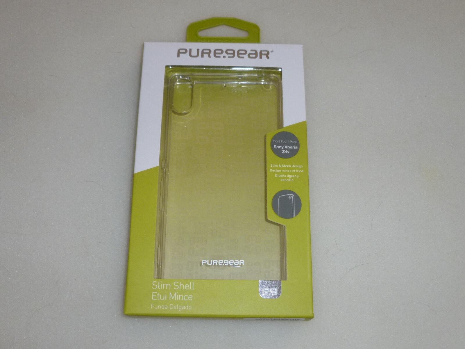 100x Cell Phone Sony Xperia Z4v Puregear Slim Shell Case ...