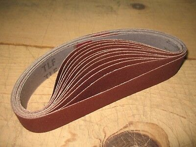 12- 1 X 18 Sanding Belts A100 For Work Sharp Tool Sharpener Attachment Ws-3000