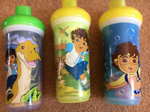 "3 Insulated ""Diego"" Straw Cups"
