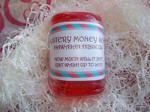 Mystery Money Soap! Real Money! Great Christmas Present, Stocking Stuffer Gift