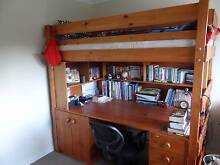 Kid's Combined Bunk Bed and Study Table Eatons Hill Pine Rivers Area Preview