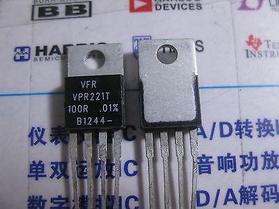 1x Vpr221 100r 0.01 Vishay Foil Resistors Y0926100r000t0l