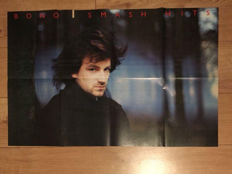 Bono / A-Ha Double Sided Poster 80cm X 50cm U2