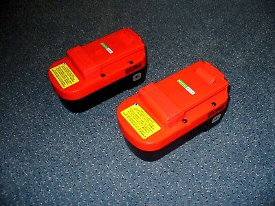 NEW BLACK+DECKER 18V Battery Batteries for Outdoor Power Tools 2Pack HPB18-OPE 2