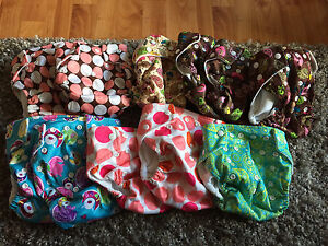 Girls KaWaii baby one size pocket cloth diapers
