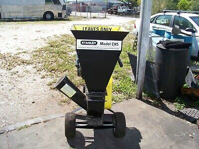 Stanley Ch 5 Commercial Wood Chippershredder