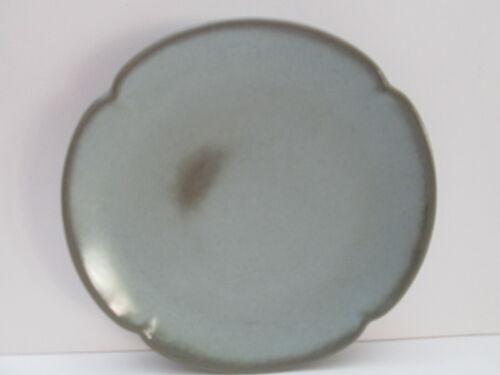 """Frankoma Dinner Plate 5F, Green Prairie, 10"""", Vintage, USA"""
