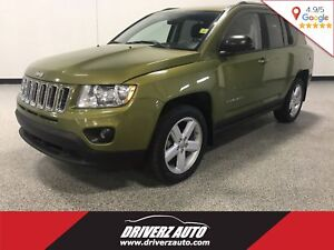 2012 Jeep Compass Limited CLEAN CARPROOF, LEATHER, 4X4