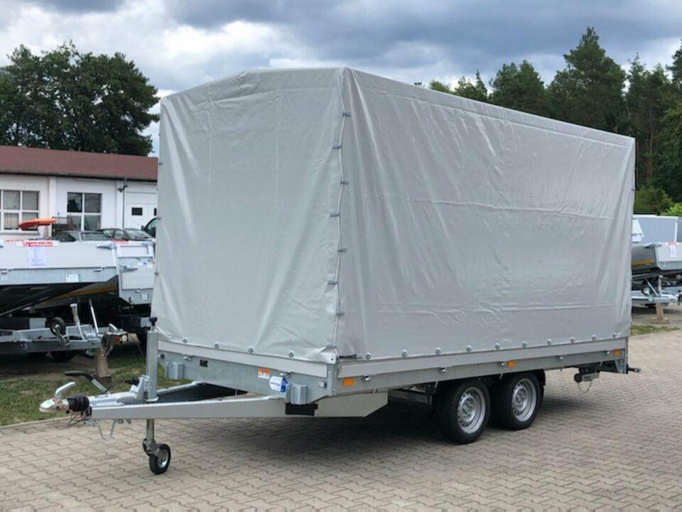 ⭐Saris Pritsche PL 406 204 3500 2 Achsen 200 cm Plane NEU in Schöneiche bei Berlin