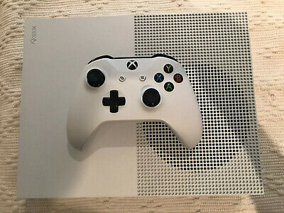 Microsoft Xbox One S White 1TB Video Game Console (Blu-ray Drive) w/ Controller