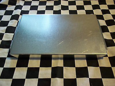 1 New- 8 X 12 Inch Hvac Duct Work End Cap Galvanized Sheet Metal Building Supply