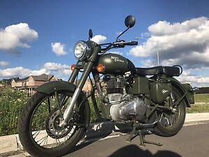 Royal Enfield Bullet 500cc battle green