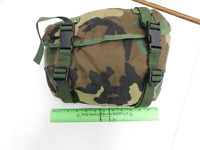 New US Military Woodland  Camo 3 day Butt Pack Nylon